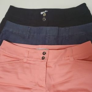 Lot of 3 WHBM Summer Shorts